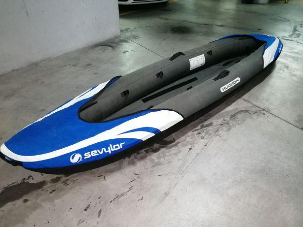 Canoa kayak insuflável sevylor Hudson