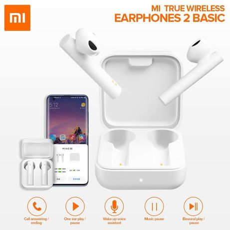 Selados! Auriculares Xiaomi Mi True Wireless Earphones 2 Basic