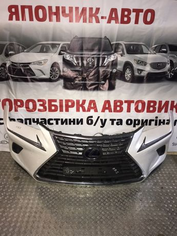 Lexus nx 300h бампер передний  комплек радиаторов гибрид  2014-2020