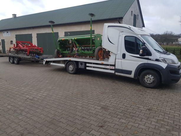 Pomoc drogowa Transport aut maszyn urządzeń rolnicze i przemysłowe