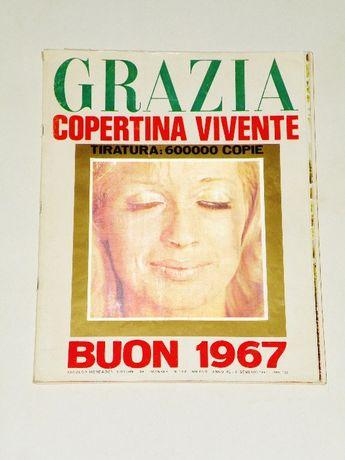 '' Grazia '' , tygodnik włoski z 8 stycznia 1967 roku