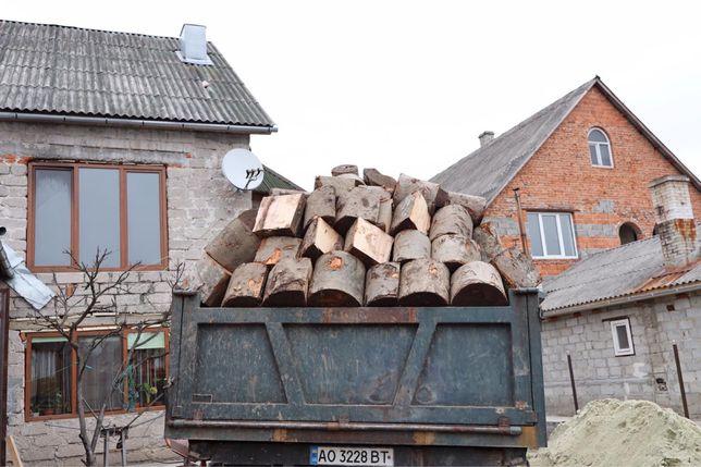 Дрова букові для опалення камачки дрива бук колоті метровки зил 131