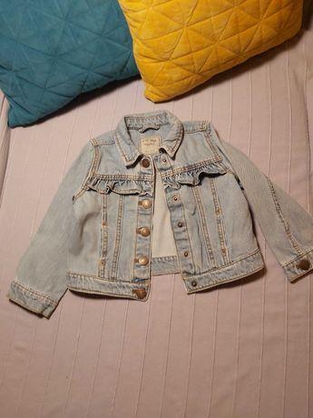 kurtka jeansowa z falbanką katana Next 110