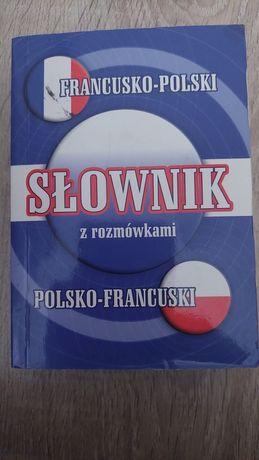 Słownik z rozmówkami francusko-polski