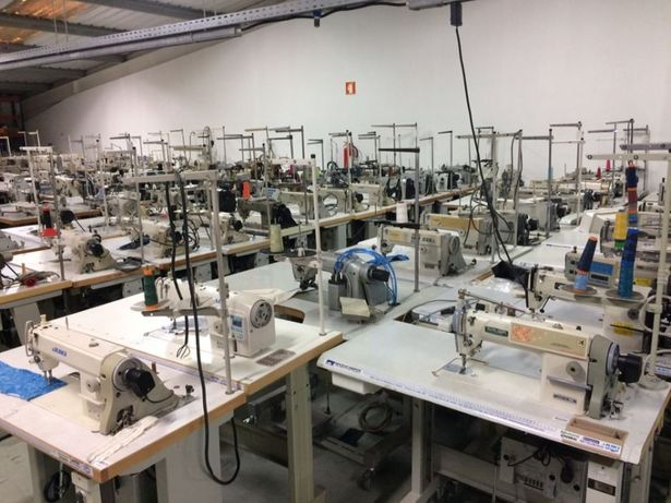 Máquinas de Costura Ponto Corrido