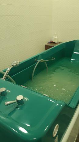 Подводный душ масаж, душ Шарко  лекарственные ванни