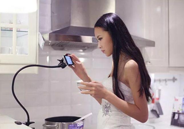 Suporte de telemóvel flexíveis