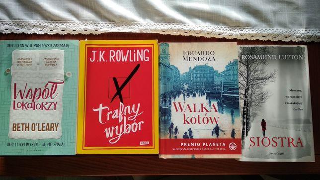 Sprzedam książki różne tytuły