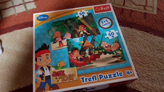Puzzle Jack i piraci z Karaibów 50 elementów