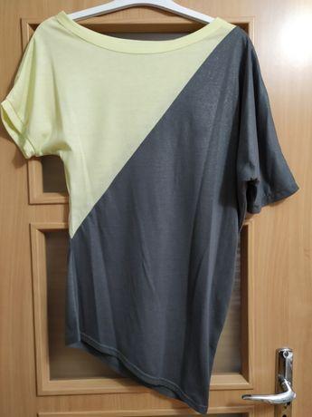 Niesymetryczna bluzka Cropp