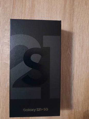 Samsung S21 Plus 256 używany dziś otwarty Czarny