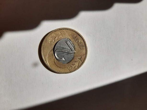Moneta 2 zł 2014 r destrukt obustronny (do czwartku cena 220 zl)