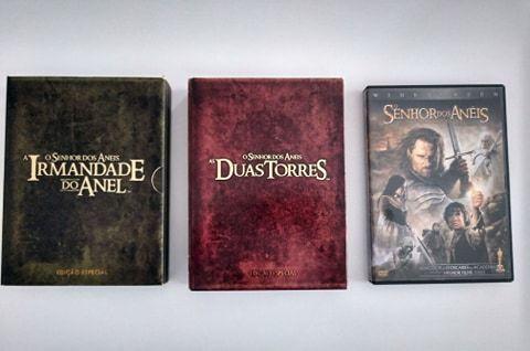O Senhor dos Anéis - Trilogy - Completo - DVD (Edição especial)