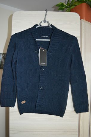 Reserved sweterek dla chłopca 122 nowy