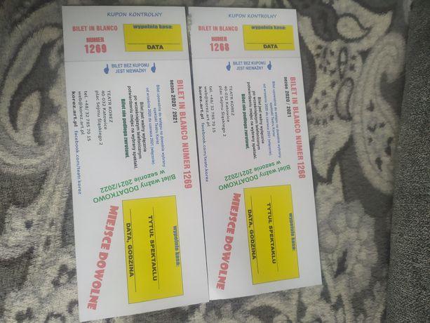 Bilety do teatru