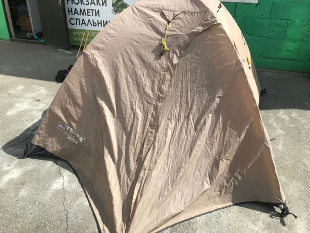Трехместная палатка б/у Alfa 3