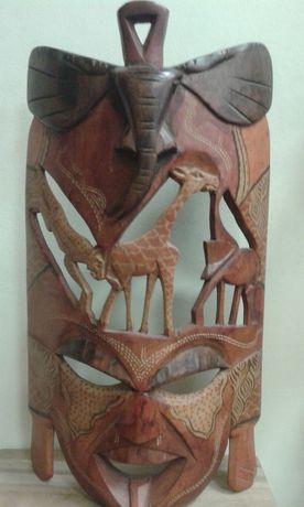Maska z Kenii oryginalna recznie robiona