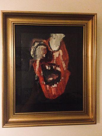 Pintura original do artista Londrino Carp Matthew