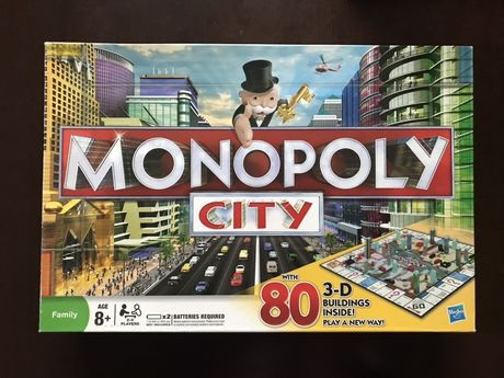 Nowa Gra planszowa MONPOLY CITY wydanie angielskie prezent dla dziecka