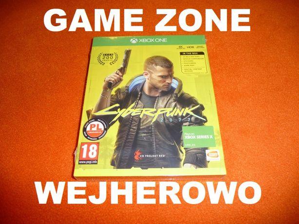 CyberPunk 2077 Xbox One + S + X = PŁYTA PL Wejherowo / FOLIA