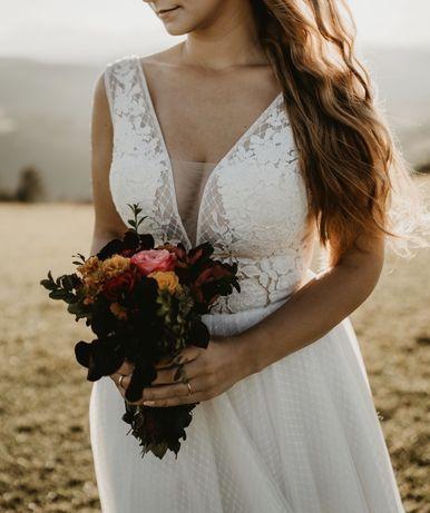 Suknia ślubna gellena piper