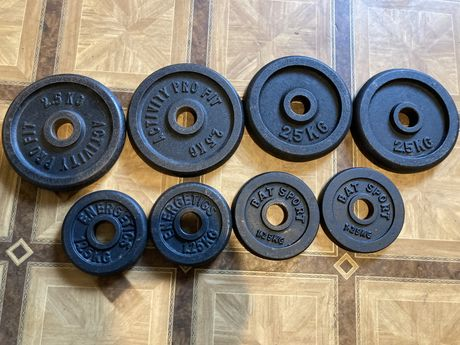 Obciążenie żeliwne siłownia