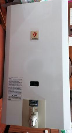 Esquentador Vulcano 11 lts ventilado, eletrónico e inteligente