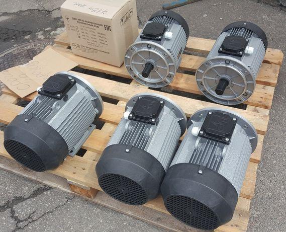 Электродвигатель двигатель однофазный трехфазный мотор 220В 56-315 габ