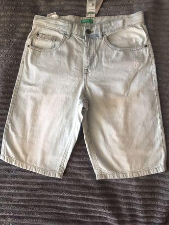 Новые джинсовые шорты Benetton