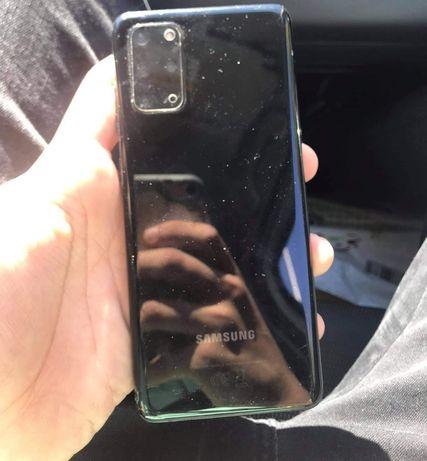 Samsung s20+ 5G apenas um poco partido