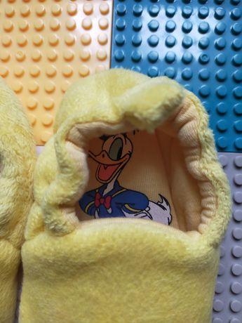 Детские комнатные мягкие тапочки пинетки