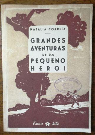grandes aventuras de um pequeno heroi, natália correia, fac-simile