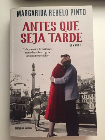 "Livro "" Antes que seja tarde"" Margarida Rebelo Pinto"