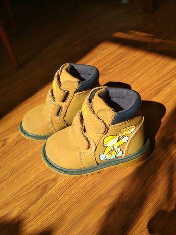 Ботинки на мальчика 13см. Воb строитель