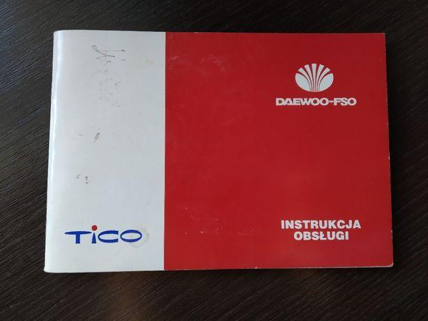 Instrukcja Obsługi Daewoo Tico