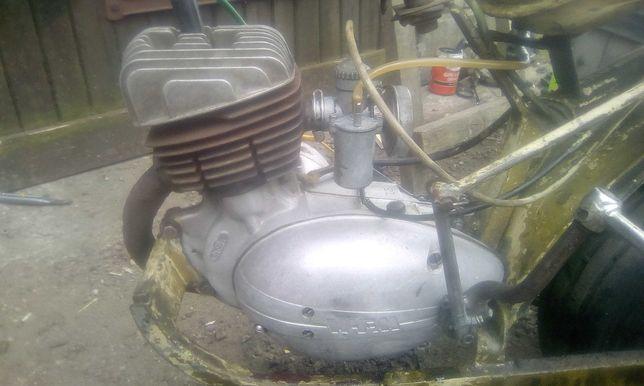 Silnik wsk wfm 125 pzl Świdnik kompletny wfm komar Romet motorynka