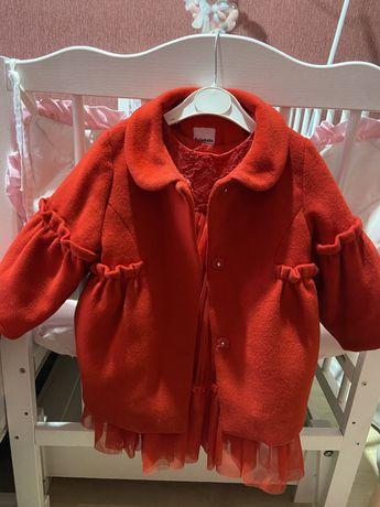 Комплект пальто і плаття нарядный комплект пальто и платье