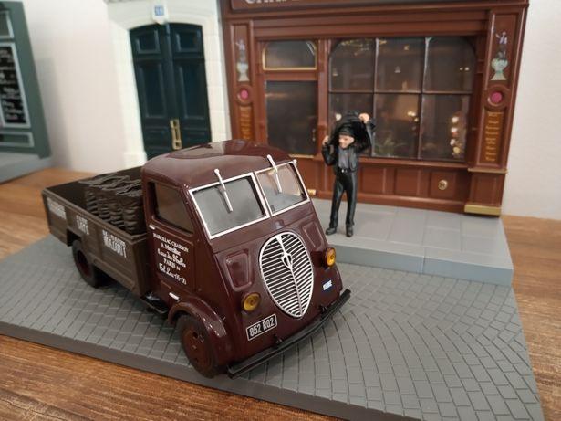 1:43 Peugeot DMA model+figurka+diorama model nowy