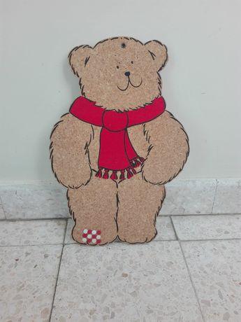 Quadro cortiça urso