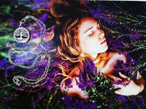 Арома кулон ожерелье брошь магнит для ароматерапии