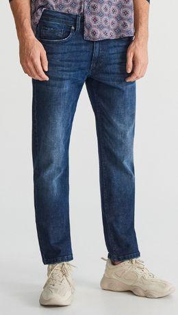 Молодежные джинсы Slim RESERVED, размер 28/32 на наш 44-46
