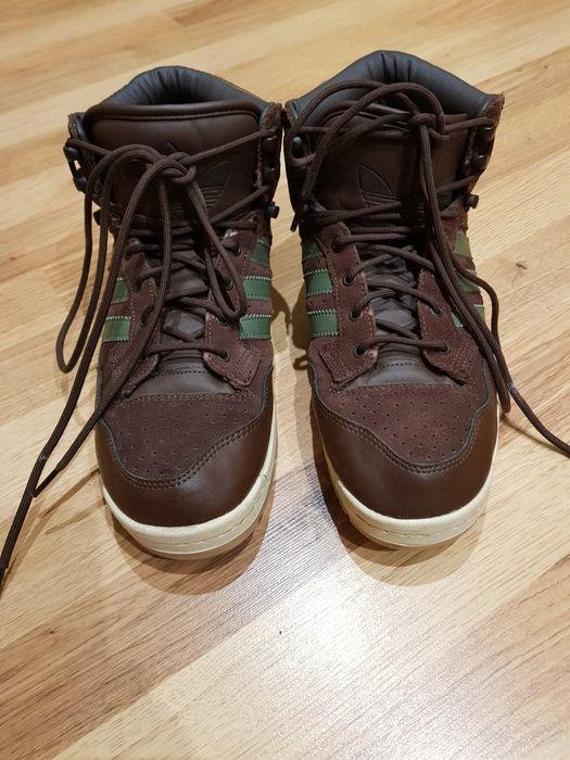 Ботинки,кросовки зимові,шкіра 42р.,Adidas Владимир-Волынский - изображение 1