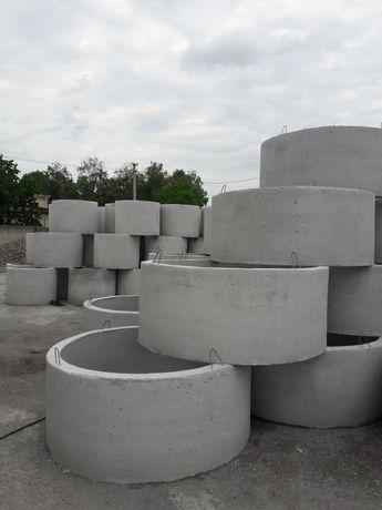 Кільця бетонні септикові та колодязні. 2м 1.5м 1.0м