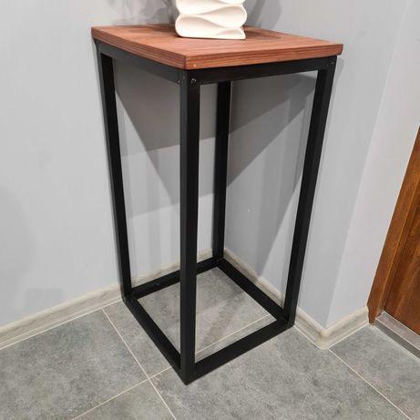 Stolik konsola drewno sz40x40 w80 cm