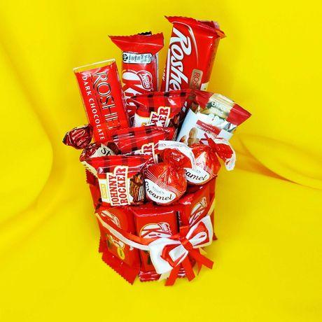 Вкусный букет ребенку сладкий букет