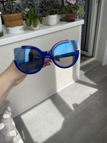 Очки, очки солнцезащитные, кошачий глаз
