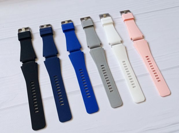 Ремешок силикон 22 мм Samsung Gear S3 | Galaxy Watch | GTR |Stratos