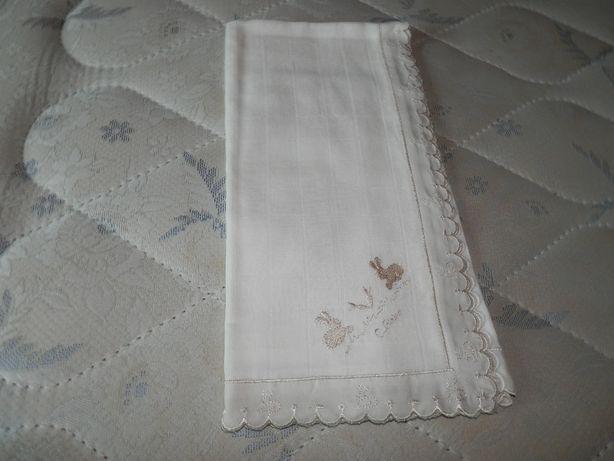 Fralda algodão+ embalagem de toalhitas