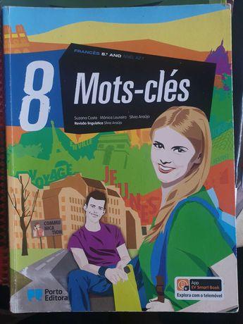 Mots-clés 8- Manual+CAtividades -Francês (COMO NOVO)
