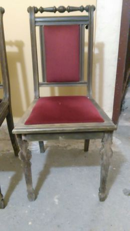 Krzesła 4 sztuki Ludwik